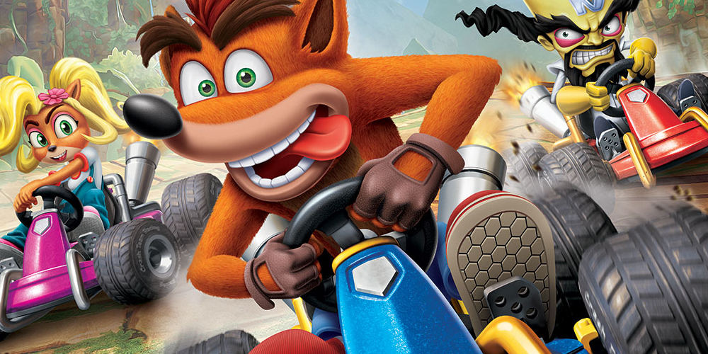 Crash Team Racing Nitro Fueled – Offizielles PS4 Bundle heute im Angebot