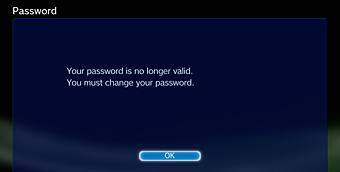 psn passwort ändern