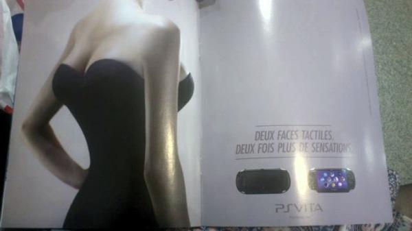 Die PS Vita ist wie eine Frau mit vier Brüsten, zumindest für Sony