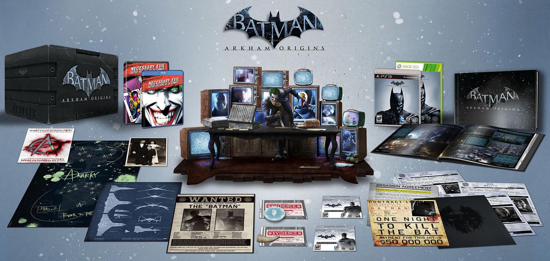 Batman: Arkham Origins – Die coolere US Collectors Edition im Bilde
