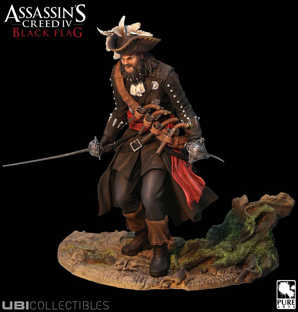Assassin's Creed IV: Black Flag – Blackbeard Sammlerfigur enthüllt inkl. DLC