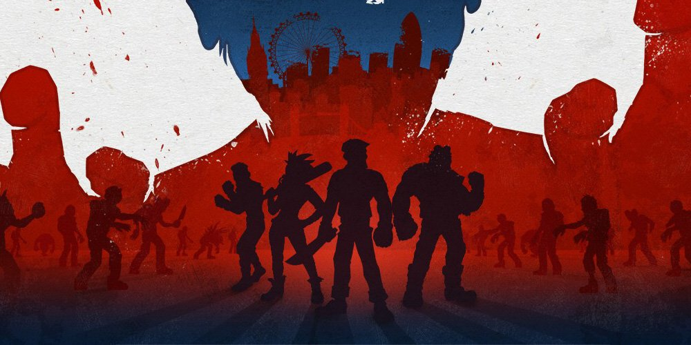 Bloody zombies koop brawler f r ps4 und playstation vr for Couch koop ps4