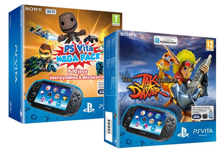 PS Vita – Gleich vier neue Bundles auf dem Weg