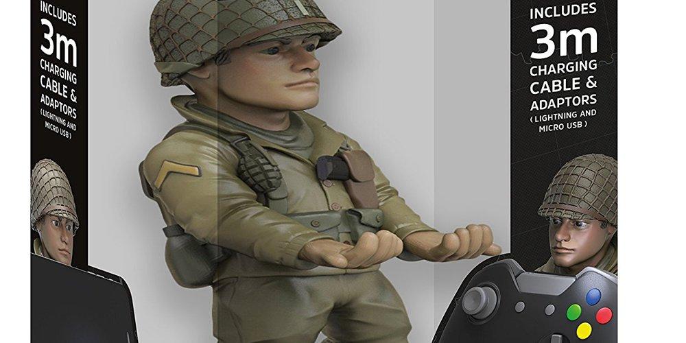 Call of Duty: WWII – Cable Guy als Ladestation für Controller vorgestellt (Update)