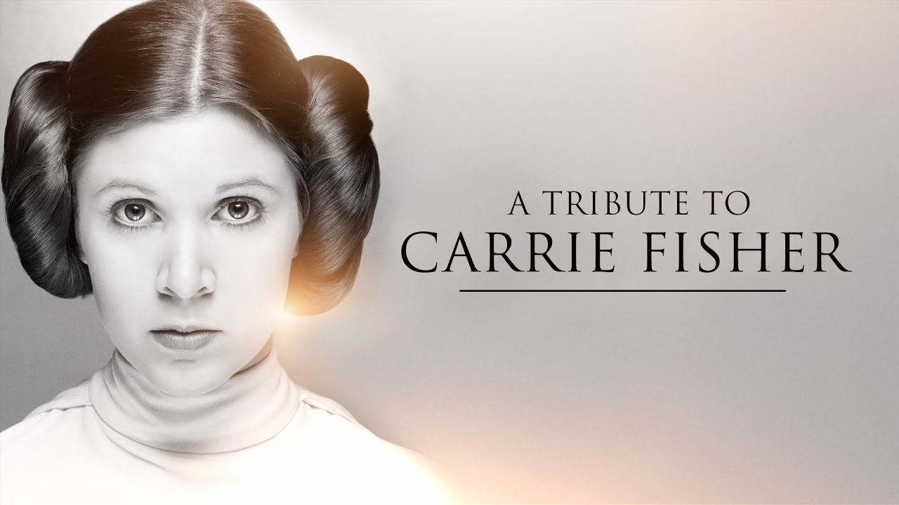 Star Wars – Offizielles Tribute Video für Carrie Fisher