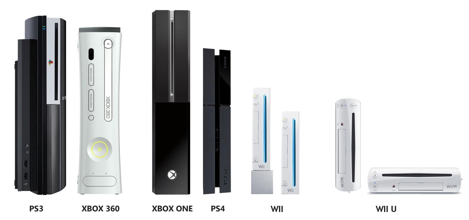 """PlayStation 4 im Größenvergleich, die """"kleinste"""" Launch-Konsole"""