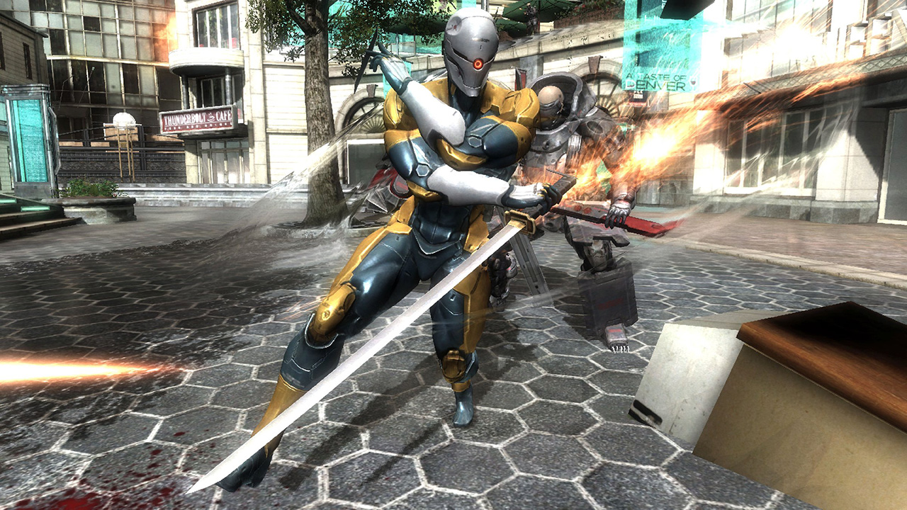 Metal Gear Rising: Revengeance kommt mit Cyborg Ninja Download Voucher