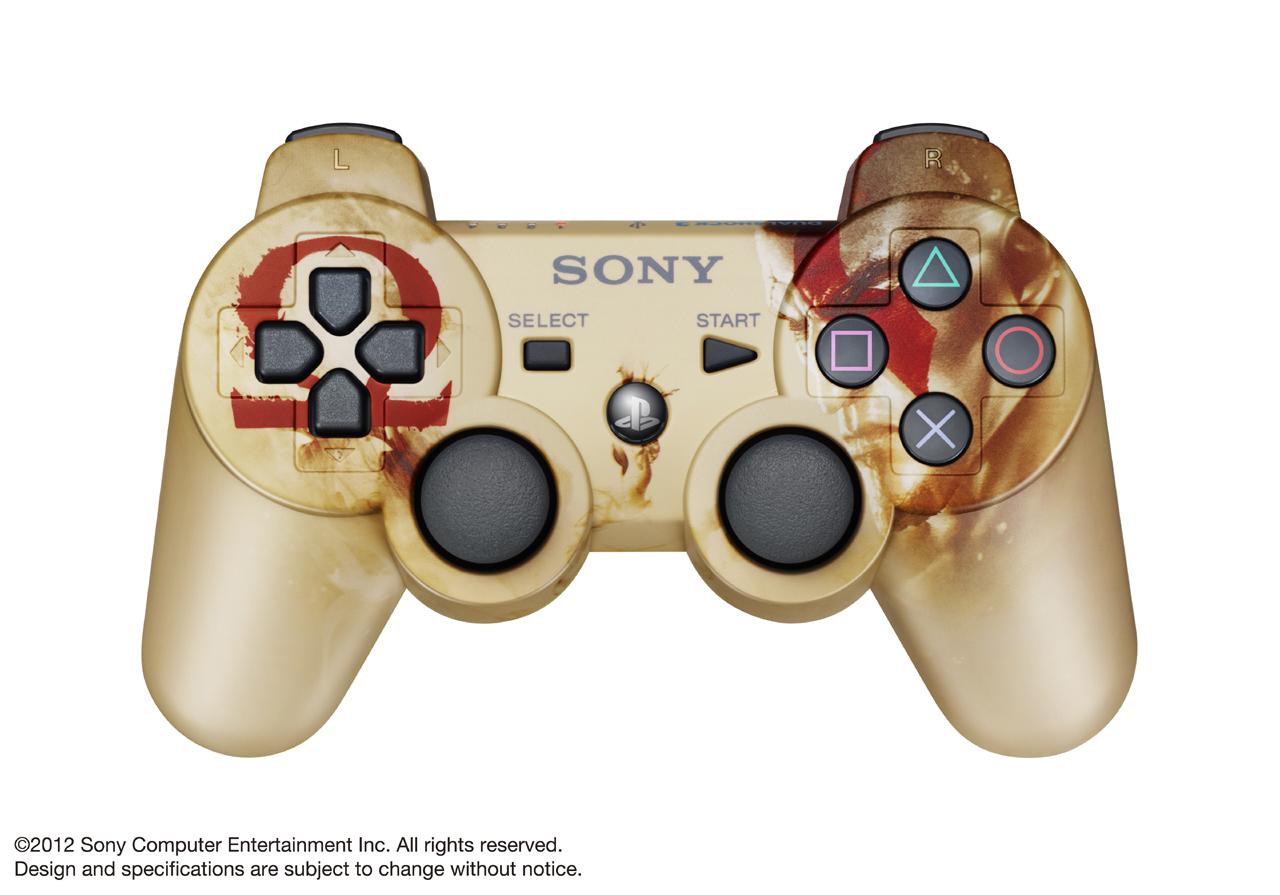 Sony enthüllt DualShock 3 Controller im God of War: Ascension Design