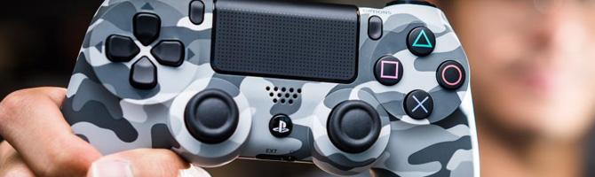DualShock 4 Controller in White & Urban Camouflage ab Oktober erhältlich