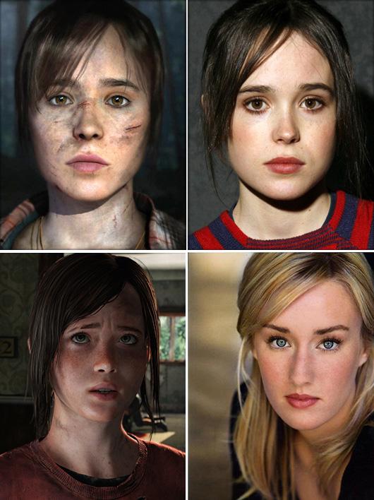 The Last of Us – Beyond Two Souls Darstellerin Ellen Page sieht sich ihrem Aussehen beraubt