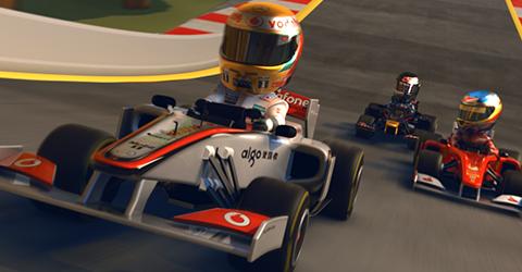 Vier neue Strecken für F1 Race Stars ab dieser Woche verfügbar