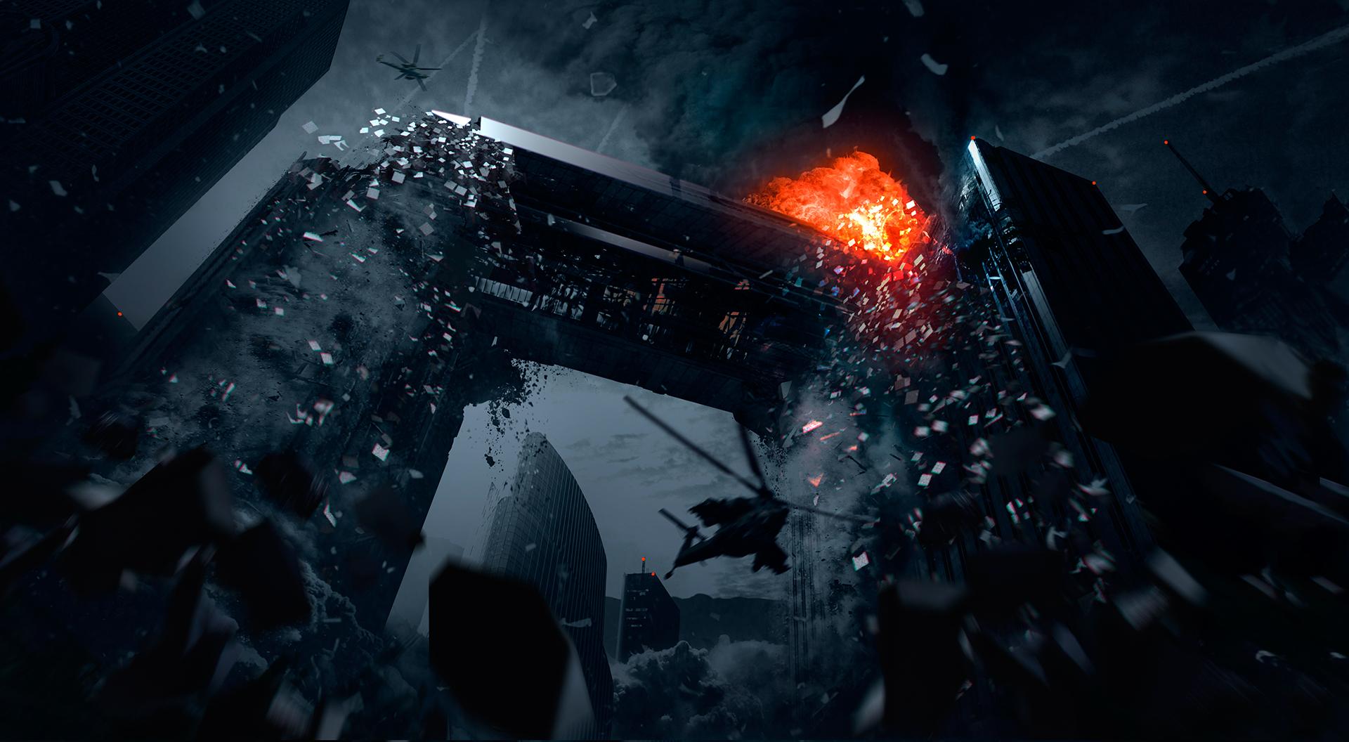 Call of Duty: Ghosts ab sofort mit brandneuer Bonus-Map 'Free Fall' für Vorbesteller