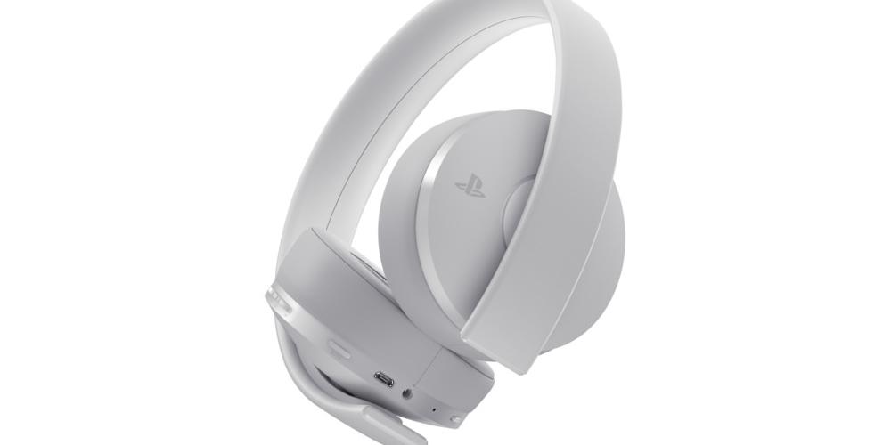 PlayStation Gold Wireless Headset – White Edition angekündigt