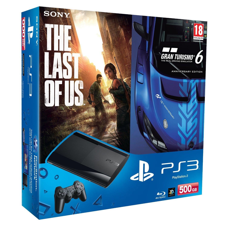 Sony plant PS3 Bundle mit The Last of Us & Gran Turismo 6