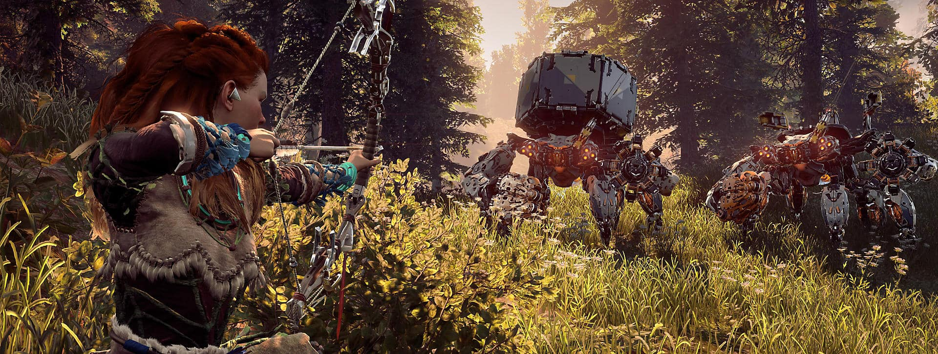 Horizon: Zero Dawn behauptet sich gegen Zelda: Breath of the Wild