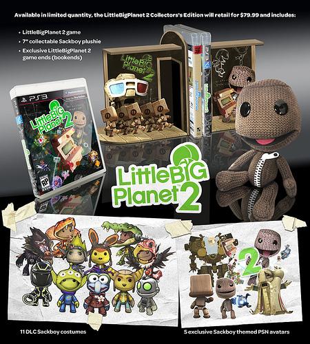 LittleBIGPlanet 2: US-Release + Limited Edition angekündigt
