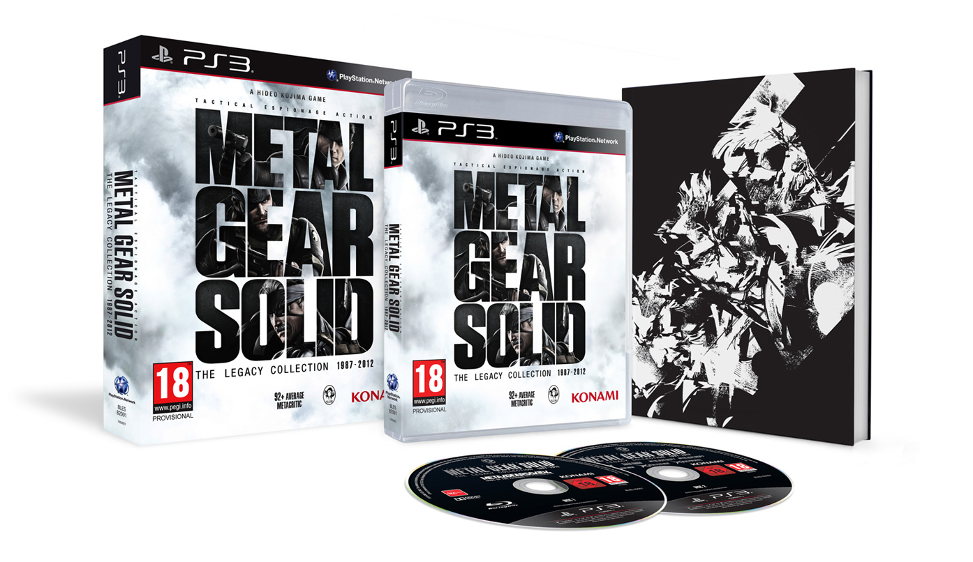 Metal Gear Solid: The Legacy Collection datiert