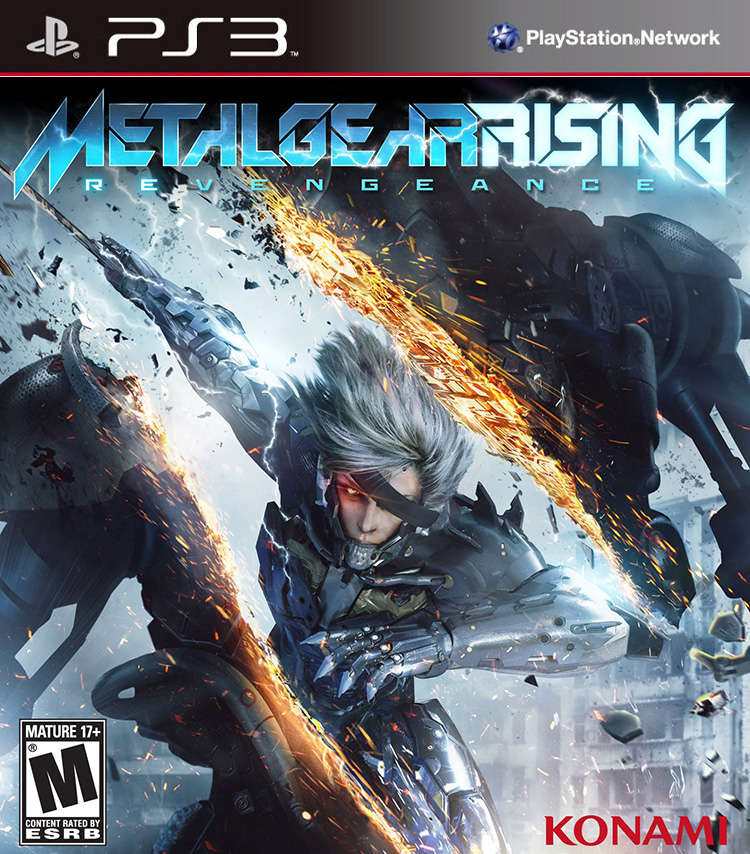 Metal Gear Rising: Revengeance – Konami enthüllt das Packshot
