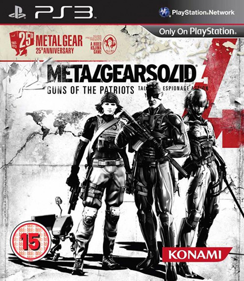 Metal Gear Solid 4: Guns of the Patriots – 25th Anniversary Edition Release datiert