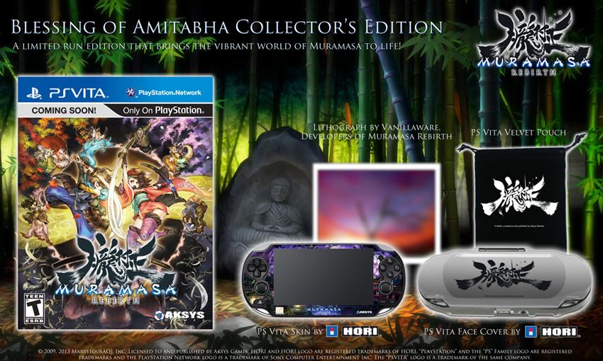 Muramasa Rebirth – US Release & Collector´s Edition angekündigt