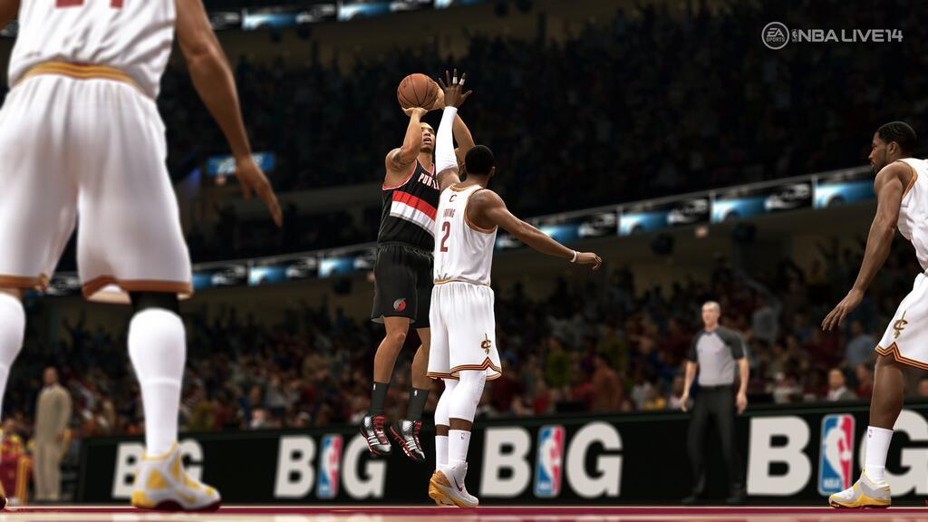 NBA Live 14 – Release & erster Gameplay-Screenshot