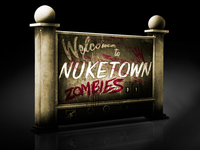 Call of Duty: Black Ops II – 'Zombie Nuketown 2025' Map exklusiv Zombies Black Ops Maps on