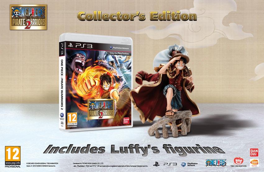 One Piece Pirate Warriors 2 – Collector's Edition für Europa angekündigt & Release