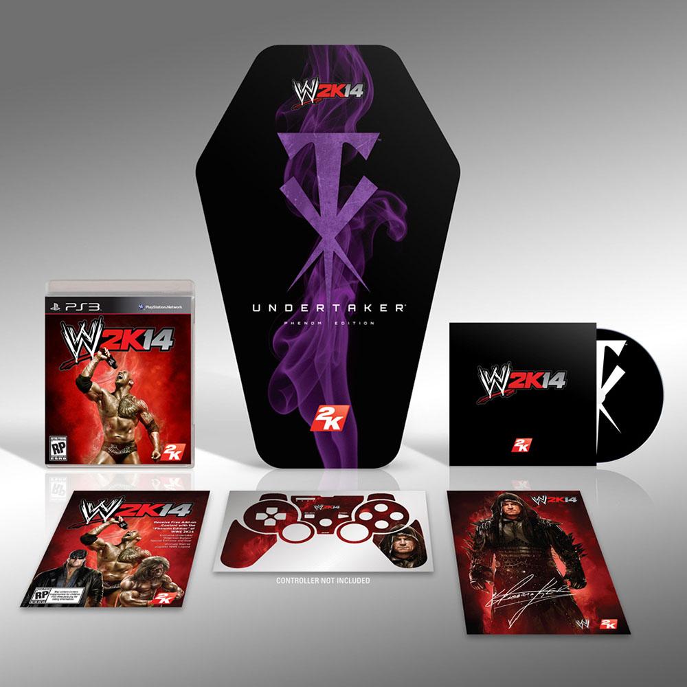 WWE 2K14 Undertaker Phenom Edition kann vorbestellt werden, günstiger als erwartet & streng limitiert
