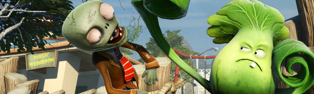Die wahnsinnigste Schlacht des Universums beginnt heute mit Plants vs. Zombies Garden Warfare 2