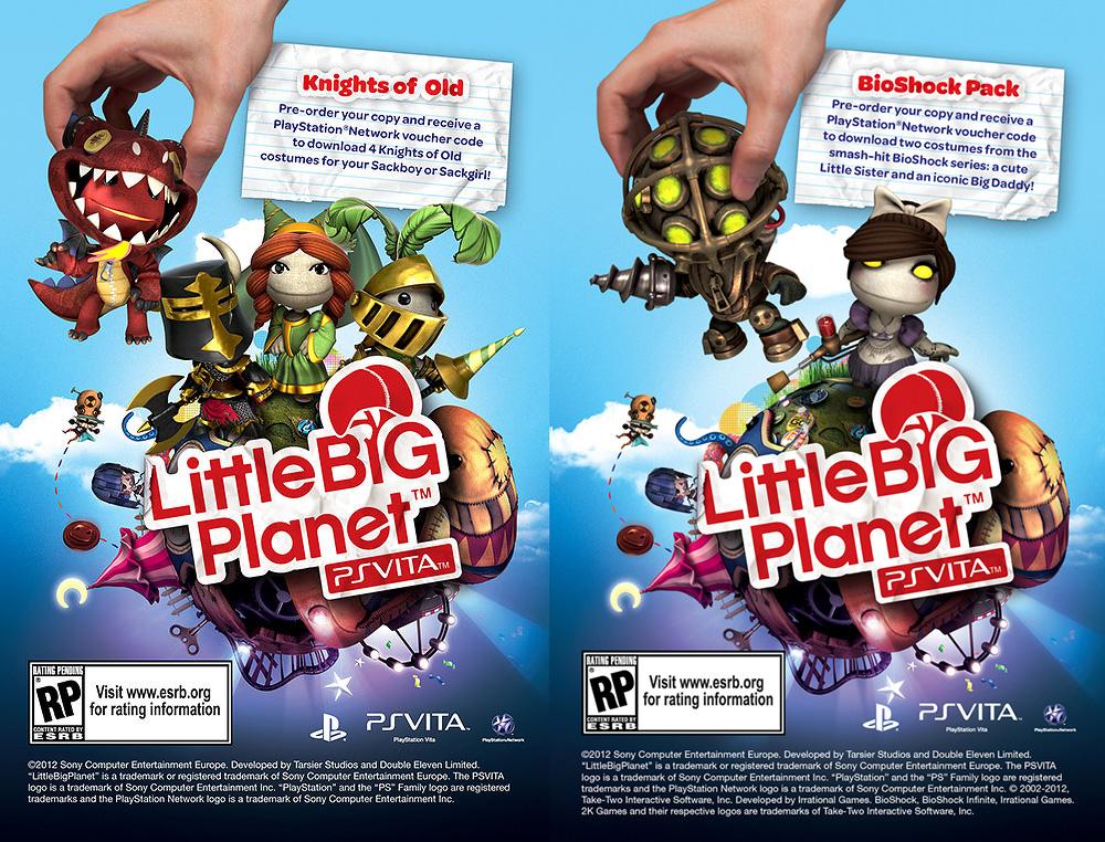 LittleBIGPlanet Vita Pre-Order