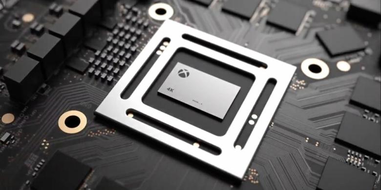 Microsoft stellte neue Spielkonsole Xbox One X vor