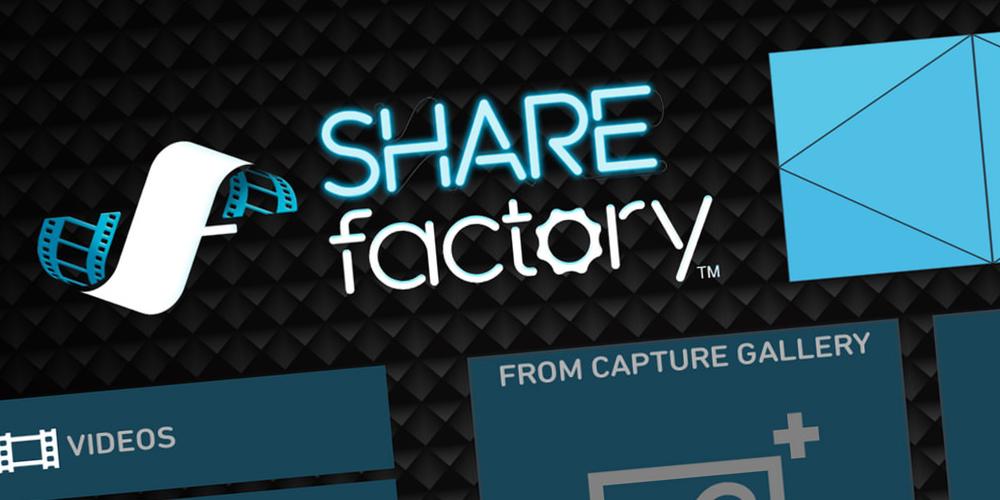 ShareFactory Update 2.50 angekündigt, inkl. eigener Medien Import
