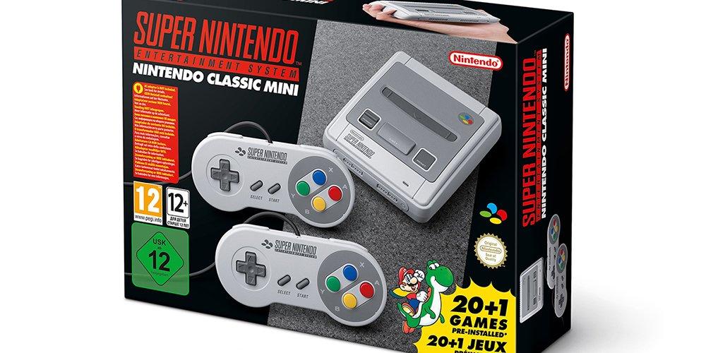 Kult: SNES kehrt als Nintendo Classic Mini zurück