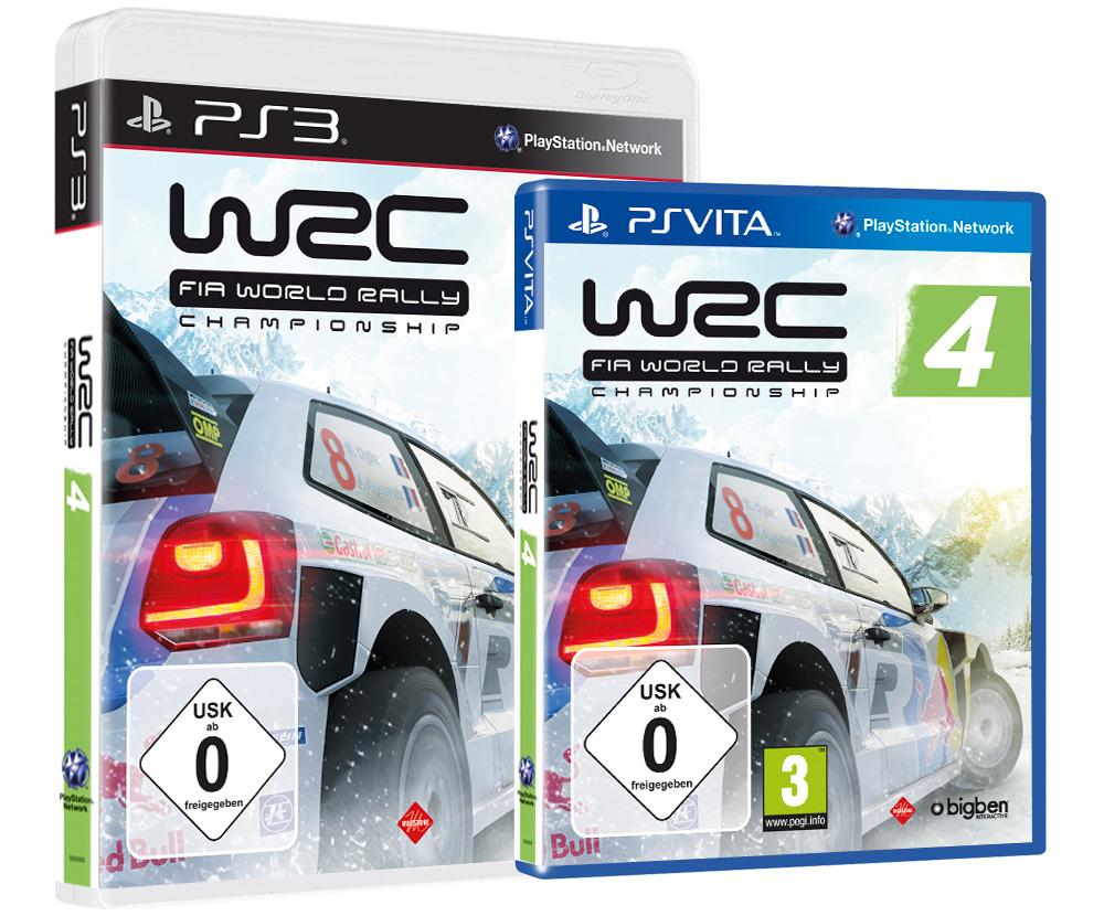 WRC 4 – Letzte Team-Infos & das offizielle Packshot
