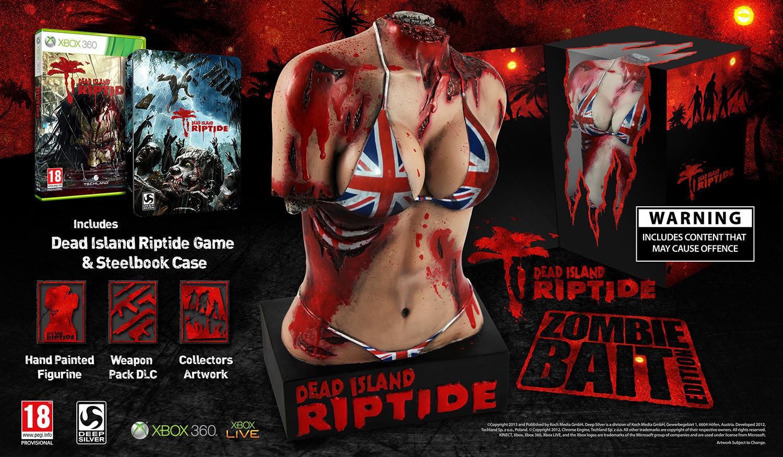 Dead Island: Riptide – 'Zombie Bait Edition' nun ganz offiziell angekündigt